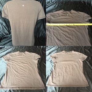 Lululemon brown T shirt size 10